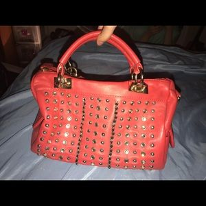 Liliana Coral Orange Purse